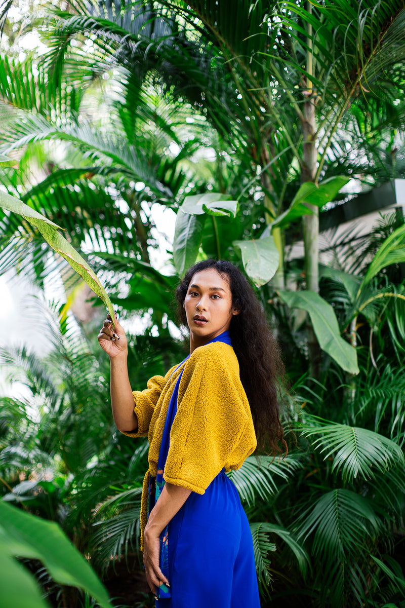 The Soma sweater is a gender expansive style designed in collaboration with Plant Kween.