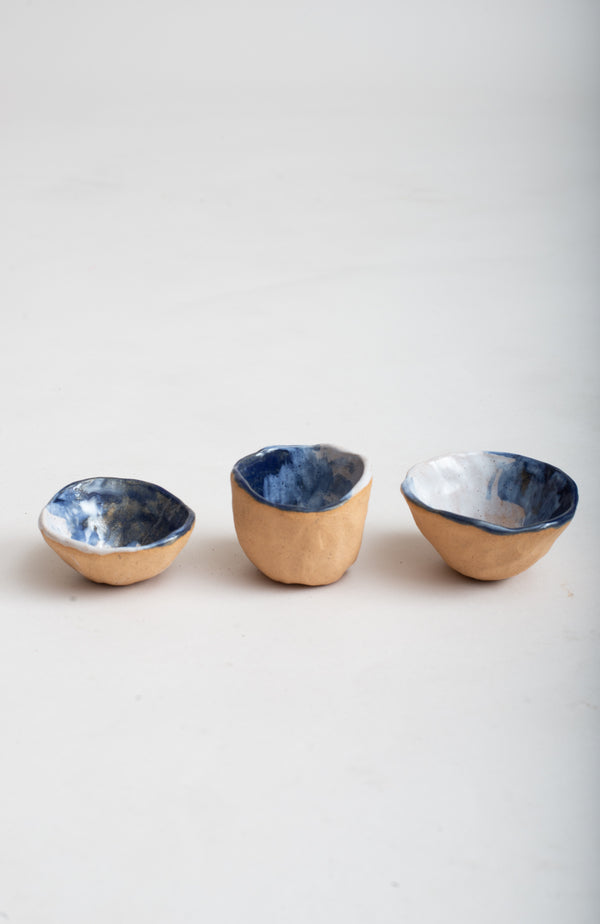 These pinch bowls are perfect for spices, salts and sauces.