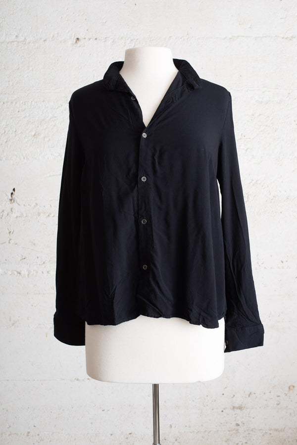 black button up top - open closet - small - gently loved