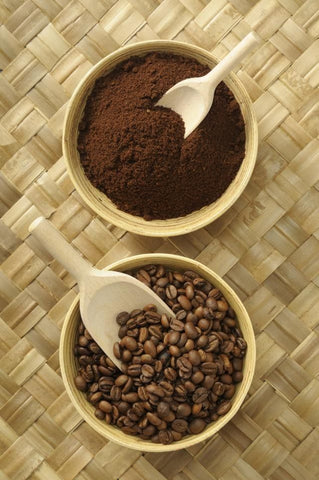 Coffee-based body-scrub