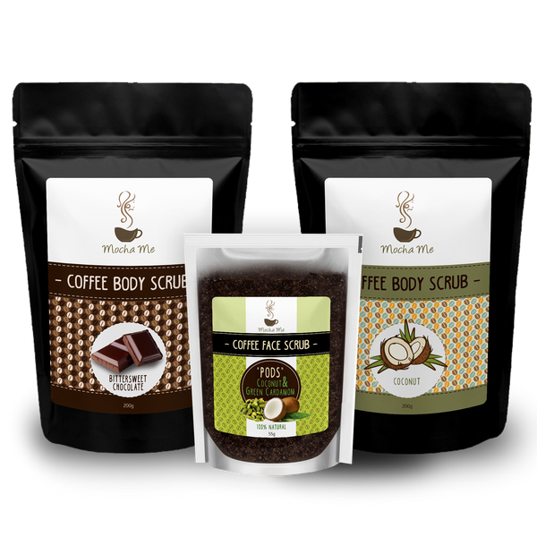 Peace Love Chic Bundle Coffee Body Scrub Mocha Me Mocha Me