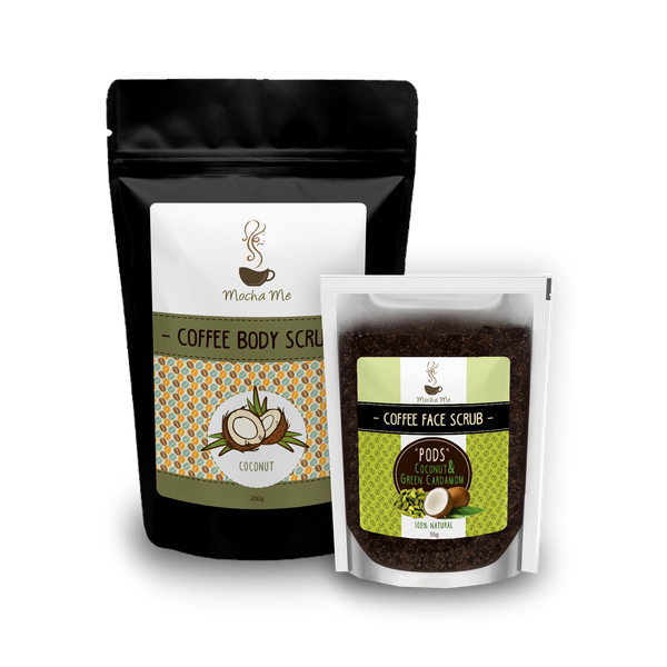 Style and Strike Bundle Coffee Body Scrub Mocha Me Mocha Me