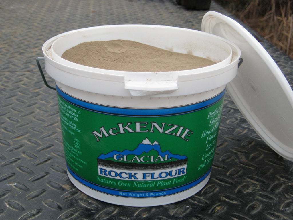 Glacial Rock Flour:  McKenzie River (LOCAL PRODUCT)