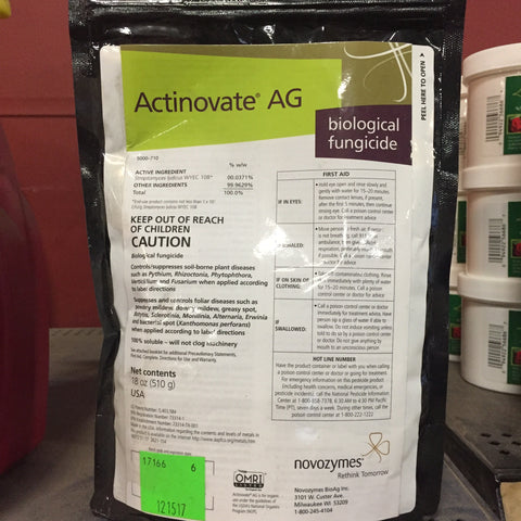 Actinovate, Organic Biological Fungicide