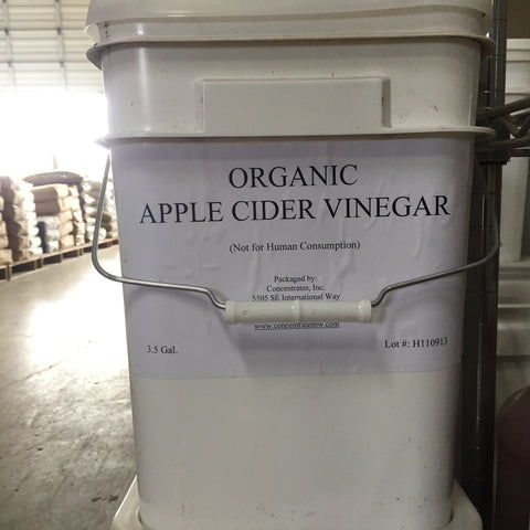 Apple Cider Vinegar Organic 3.5 gal