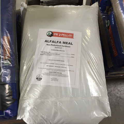 Alfalfa Meal, Organic   40 lb bag