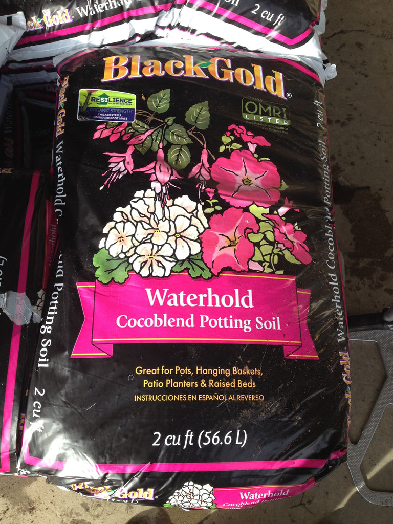 Black Gold Organic Waterhold Coco Blend Potting Soil   2 cf
