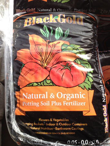Black Gold Natural & Organic Potting Soil   2 cf