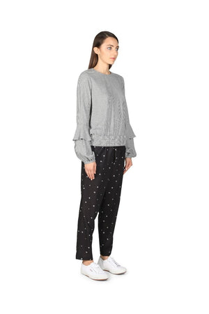 Cooper St - Ditsy Daisy Slouch Pant (Print)