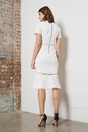 Shilla - Dreamer Midi Dress (White)