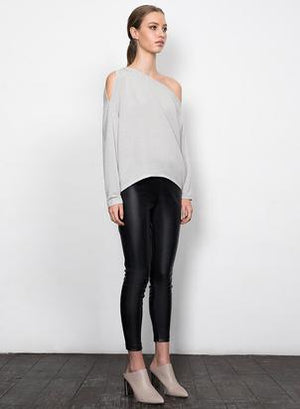 Wish - Frankie Top (Soft Grey)