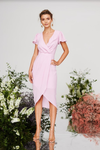 Cooper Street - Honey SS Drape Dress (Floss)