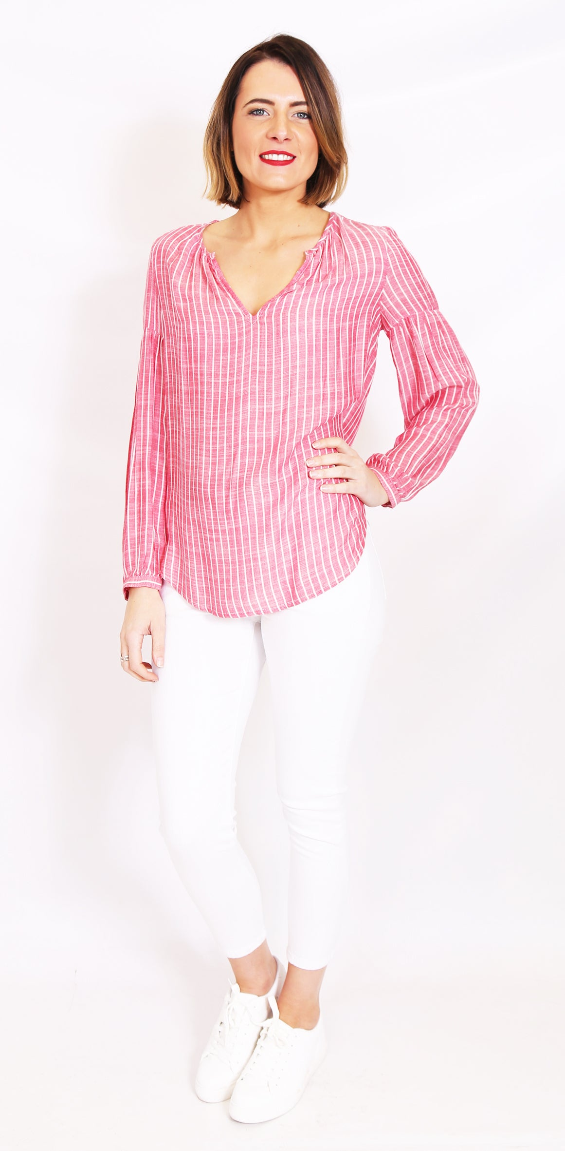 Wite - Pimms Blouse (Red Stripe)