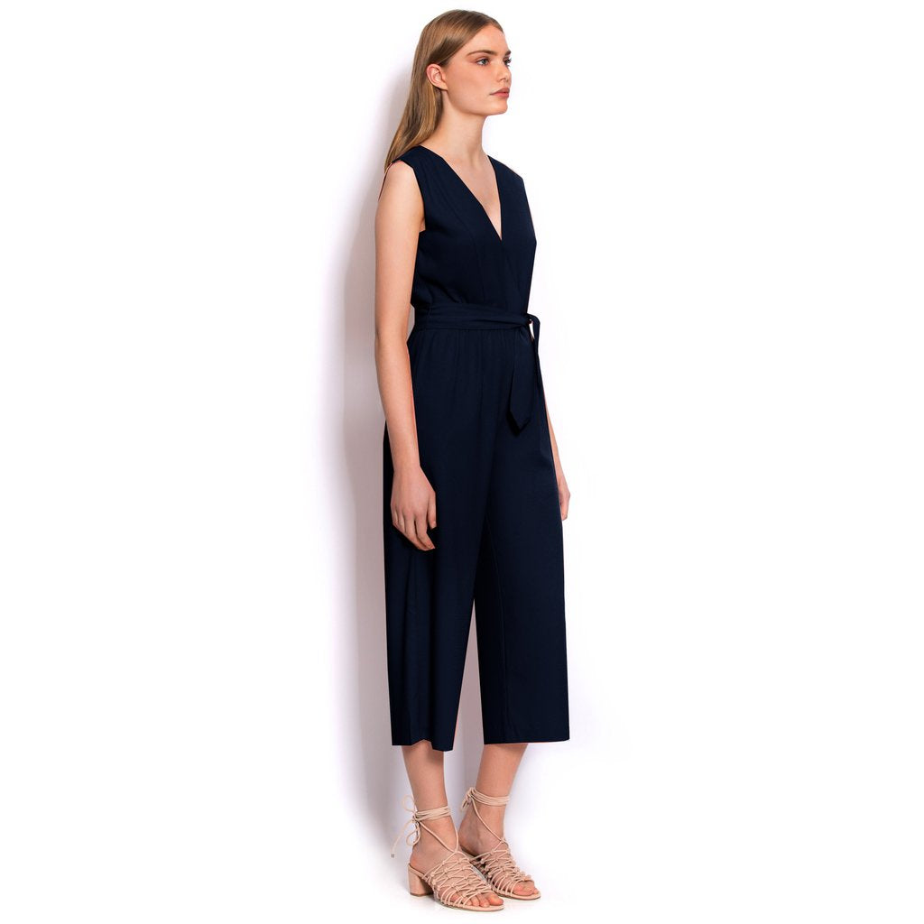 Wish- Skyscrapper Jumpsuit (Navy)
