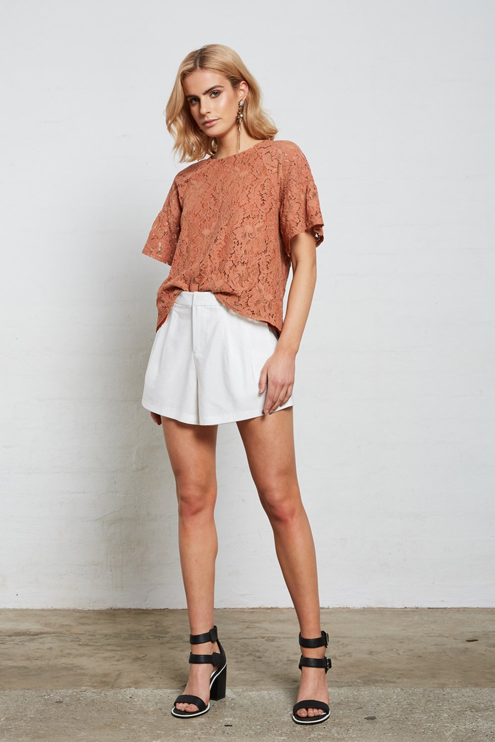 Shilla - Superior Lace Top (Copper)