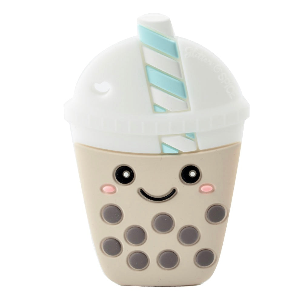 Bubble Tea Silicone Teether - Glitter & Spice