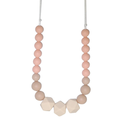 Silicone Teething Necklace - Samantha Gradient Necklace Collection Glitter & Spice