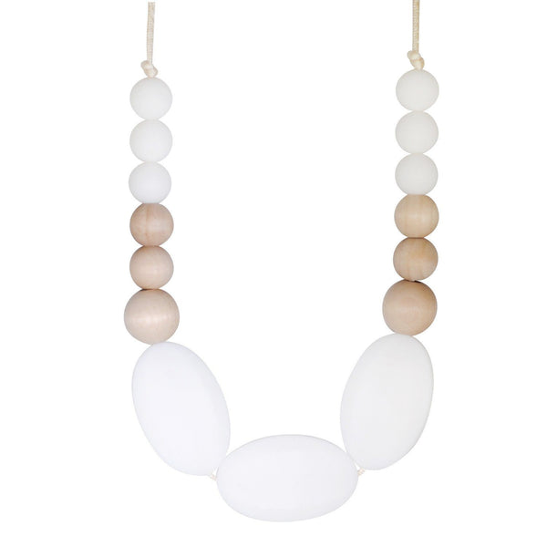 Silicone Teething Necklace - Kaleen - Glitter & Spice