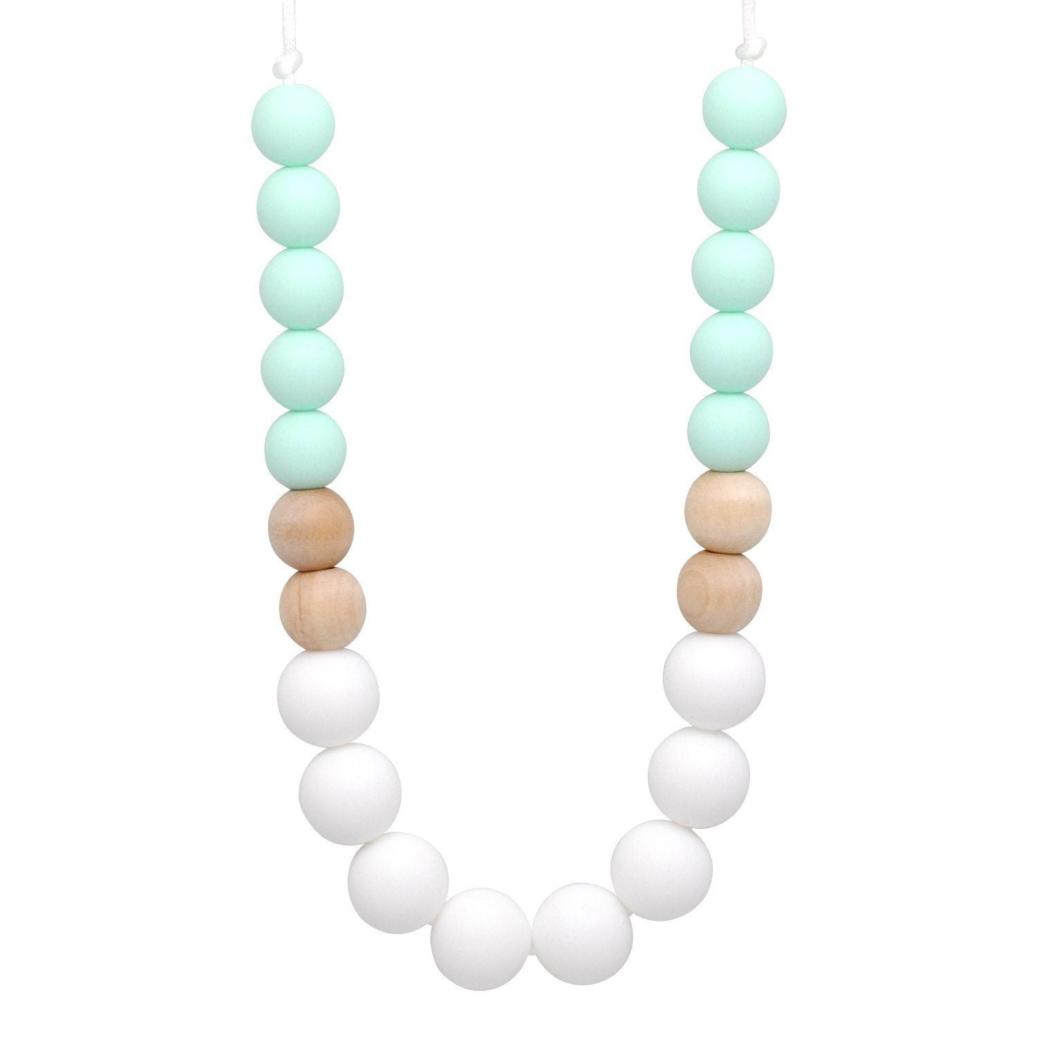 Silicone Teething Necklace - Anha - Glitter & Spice