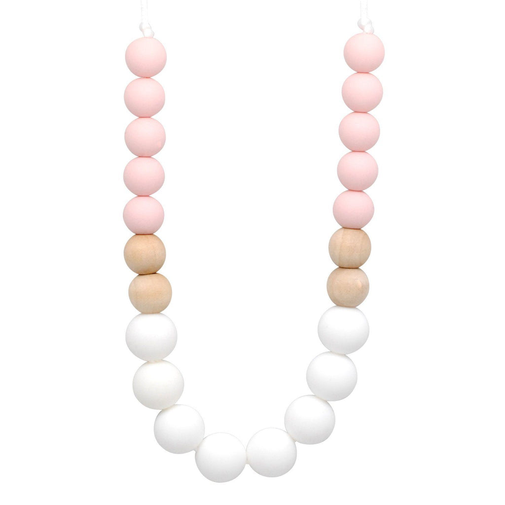 Silicone Teething Necklace - Callista Gradient Necklace Collection Glitter & Spice