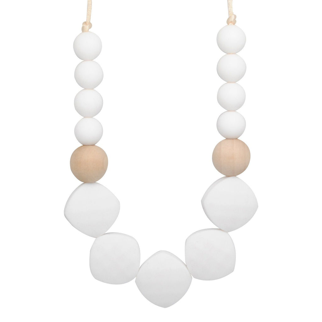 Silicone Teething Necklace - Claire Statement Necklace Collection Glitter & Spice