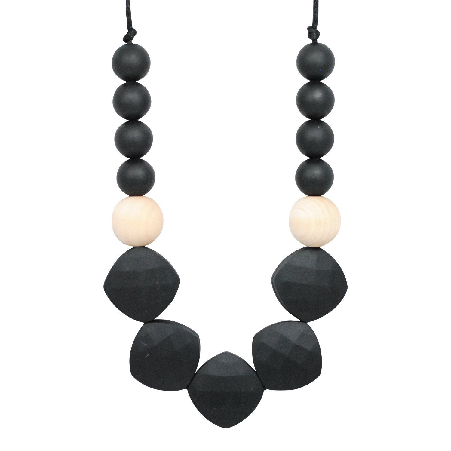 Silicone Teething Necklace - Farrah - Glitter & Spice