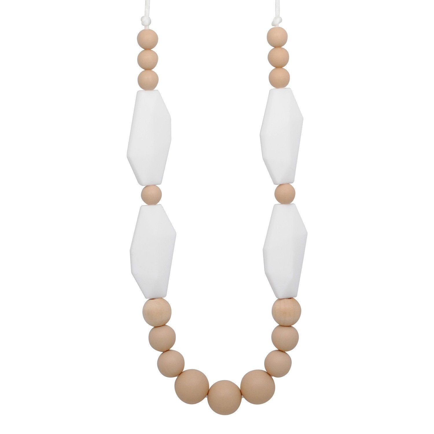 Silicone Teething Necklace - Haley - Glitter & Spice