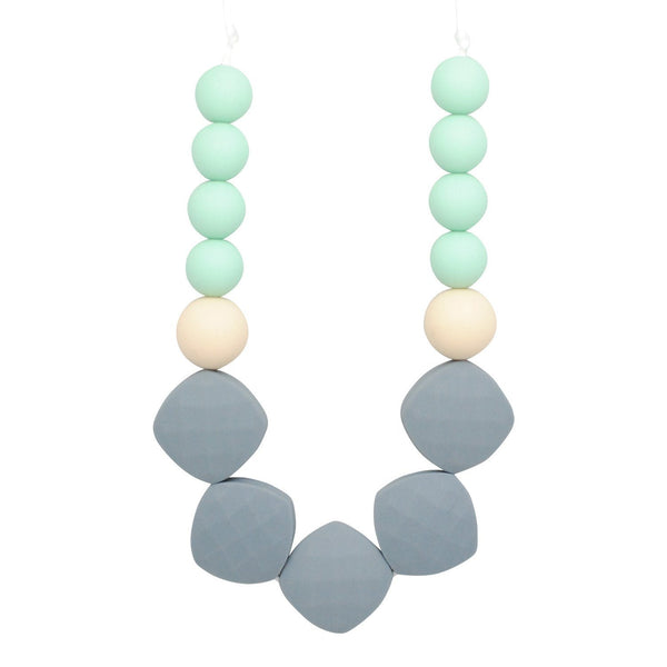 Silicone Teething Necklace - Maddison - Glitter & Spice
