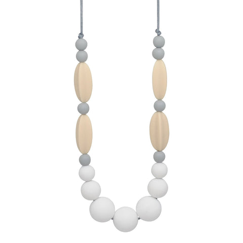 Silicone Teething Necklace - Mia Statement Necklace Collection Glitter & Spice