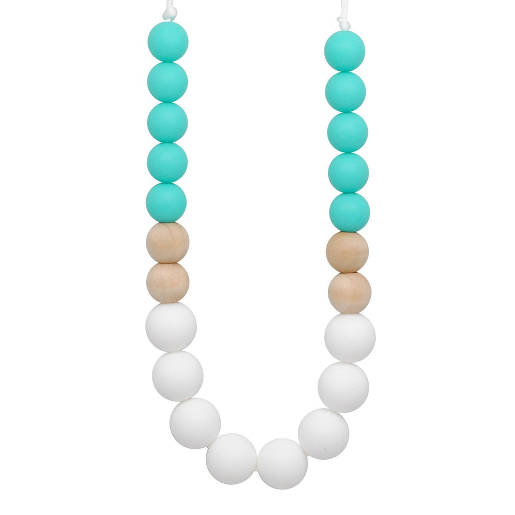 Silicone Teething Necklace - Piper Gradient Necklace Collection Glitter & Spice
