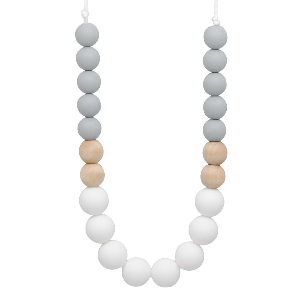 Silicone Teething Necklace - Quinn Gradient Necklace Collection Glitter & Spice
