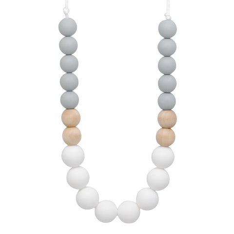 Silicone Teething Necklace - Quinn - Glitter & Spice