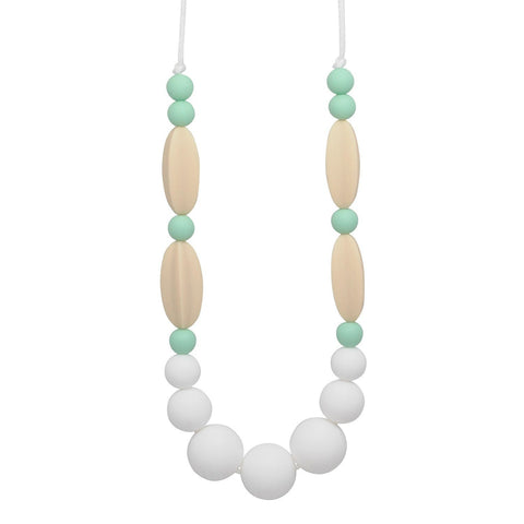 Silicone Teething Necklace - Savannah Statement Necklace Collection Glitter & Spice