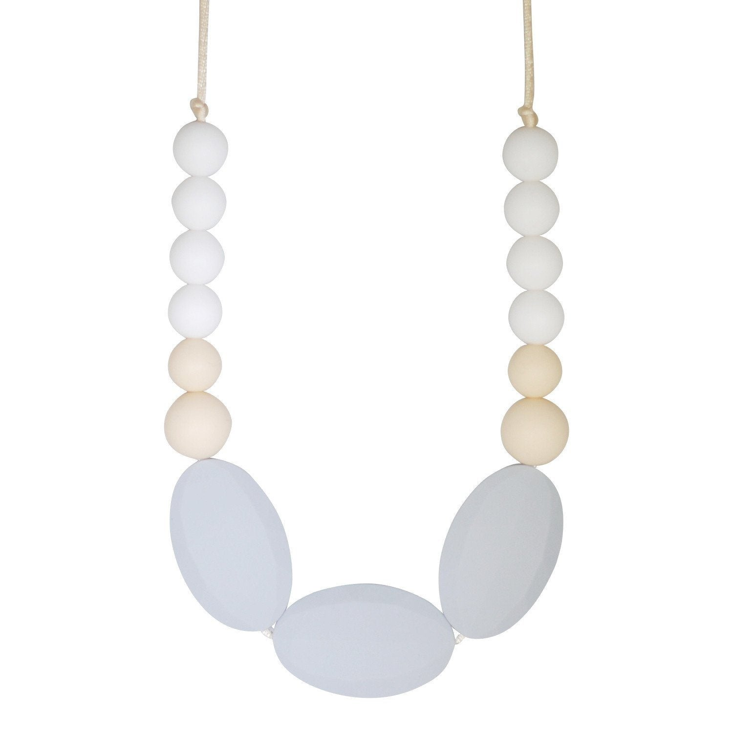 Silicone Teething Necklace - Adeline - Glitter & Spice