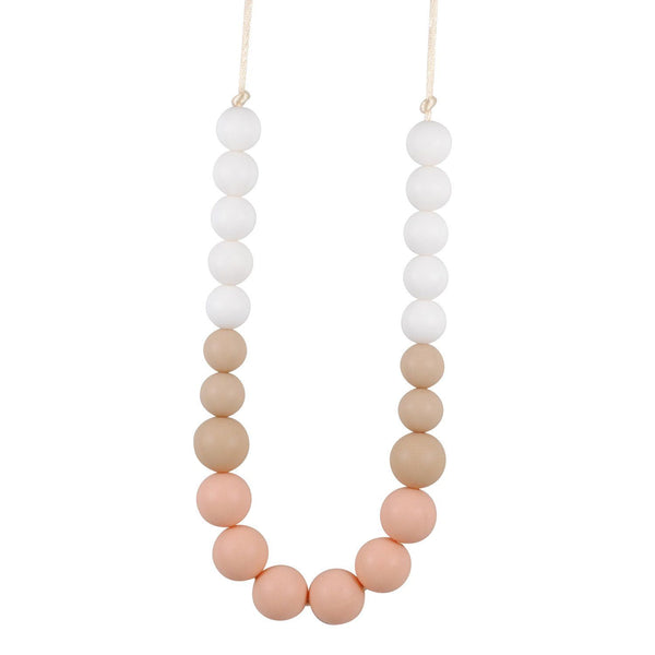 Silicone Teething Necklace - Anneliese - Glitter & Spice