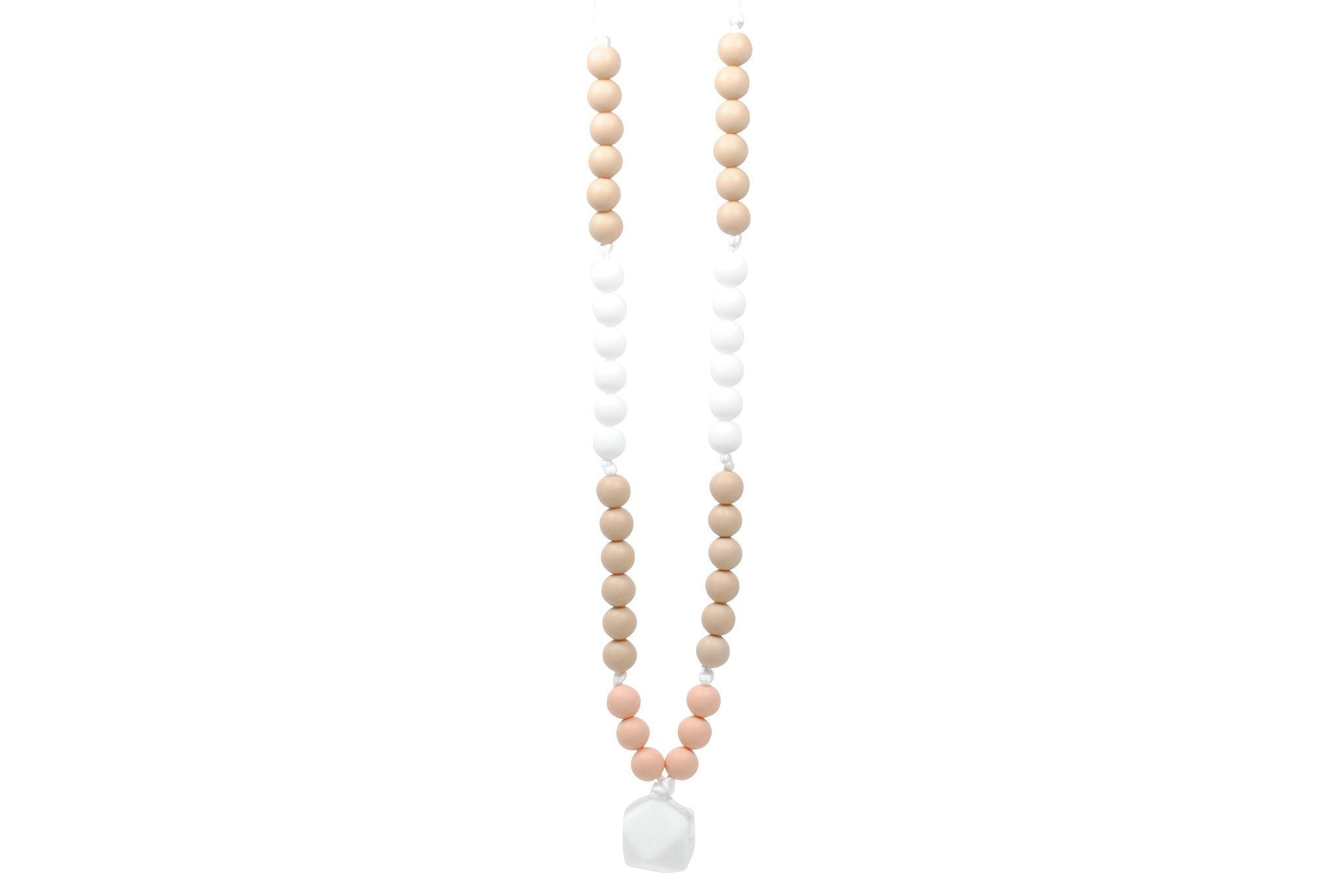 Silicone Teething Necklace - Brianna - Glitter & Spice