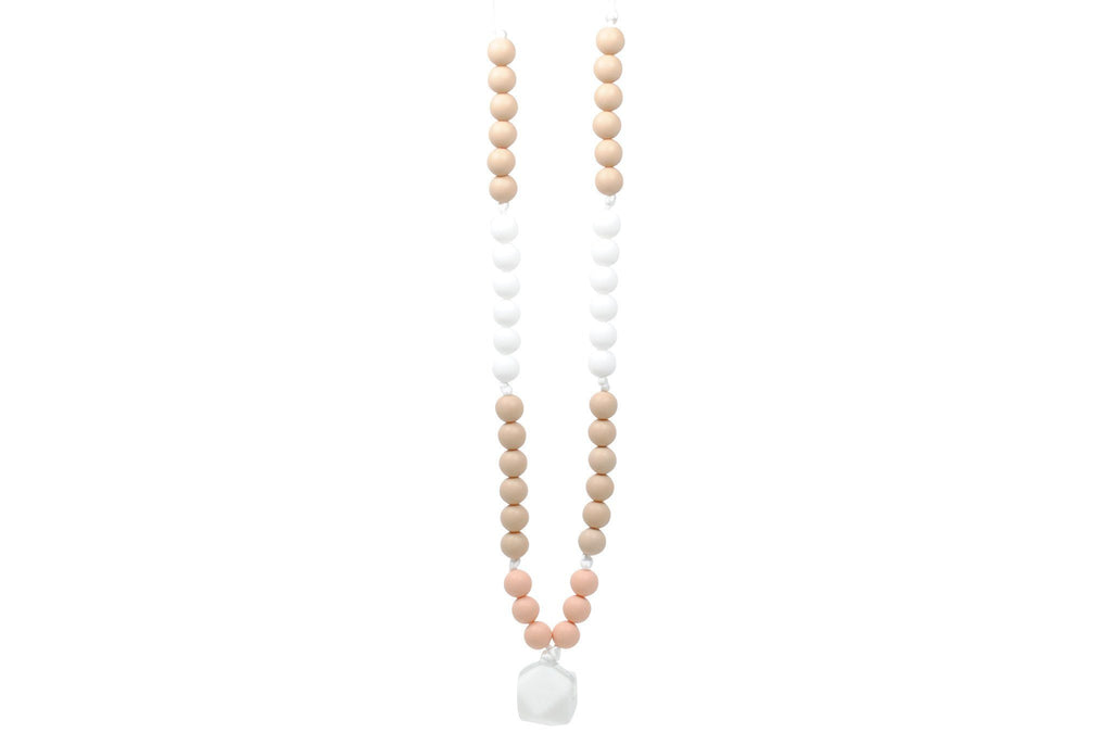 Silicone Teething Necklace - Brianna Statement Necklace Collection Glitter & Spice