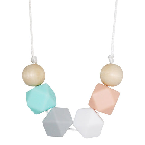 Silicone Teething Necklace - Clara - Glitter & Spice