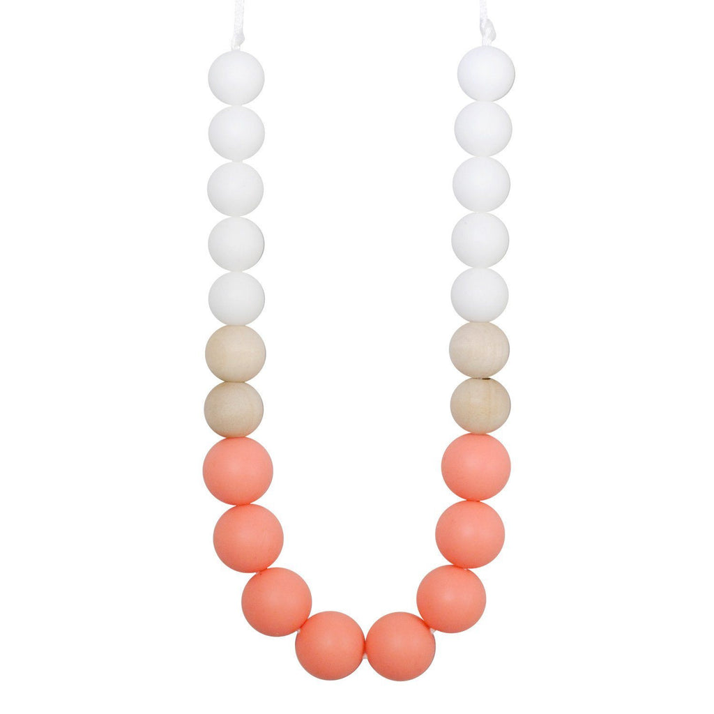 Silicone Teething Necklace - Flora Gradient Necklace Collection Glitter & Spice