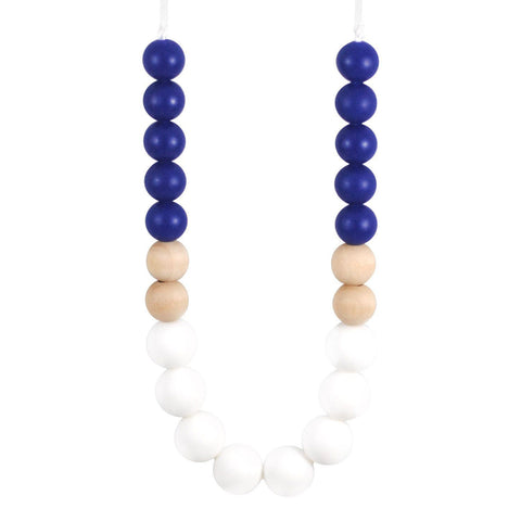 Silicone Teething Necklace - Kai - Glitter & Spice