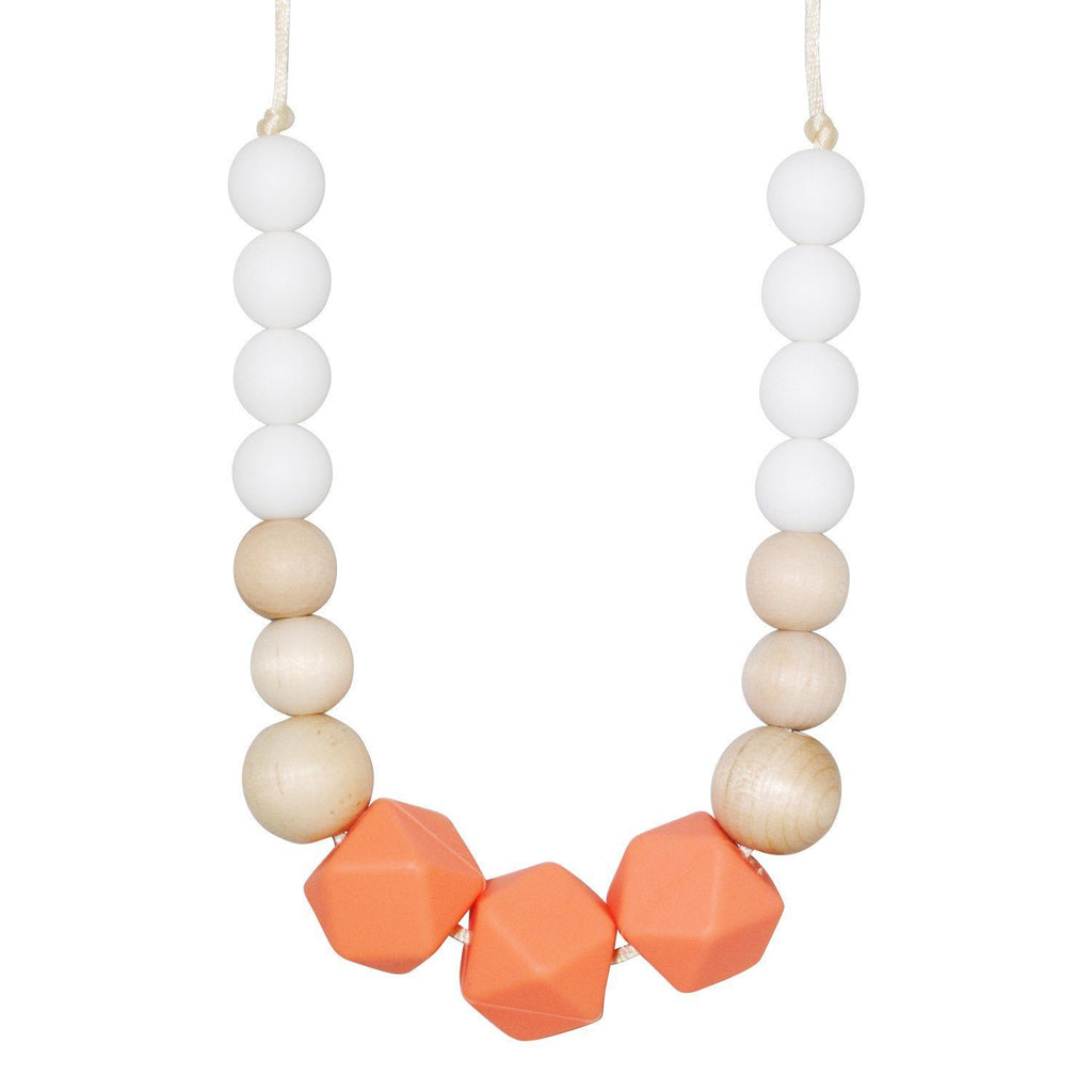 Silicone Teething Necklace - Tania Gradient Necklace Collection Glitter & Spice
