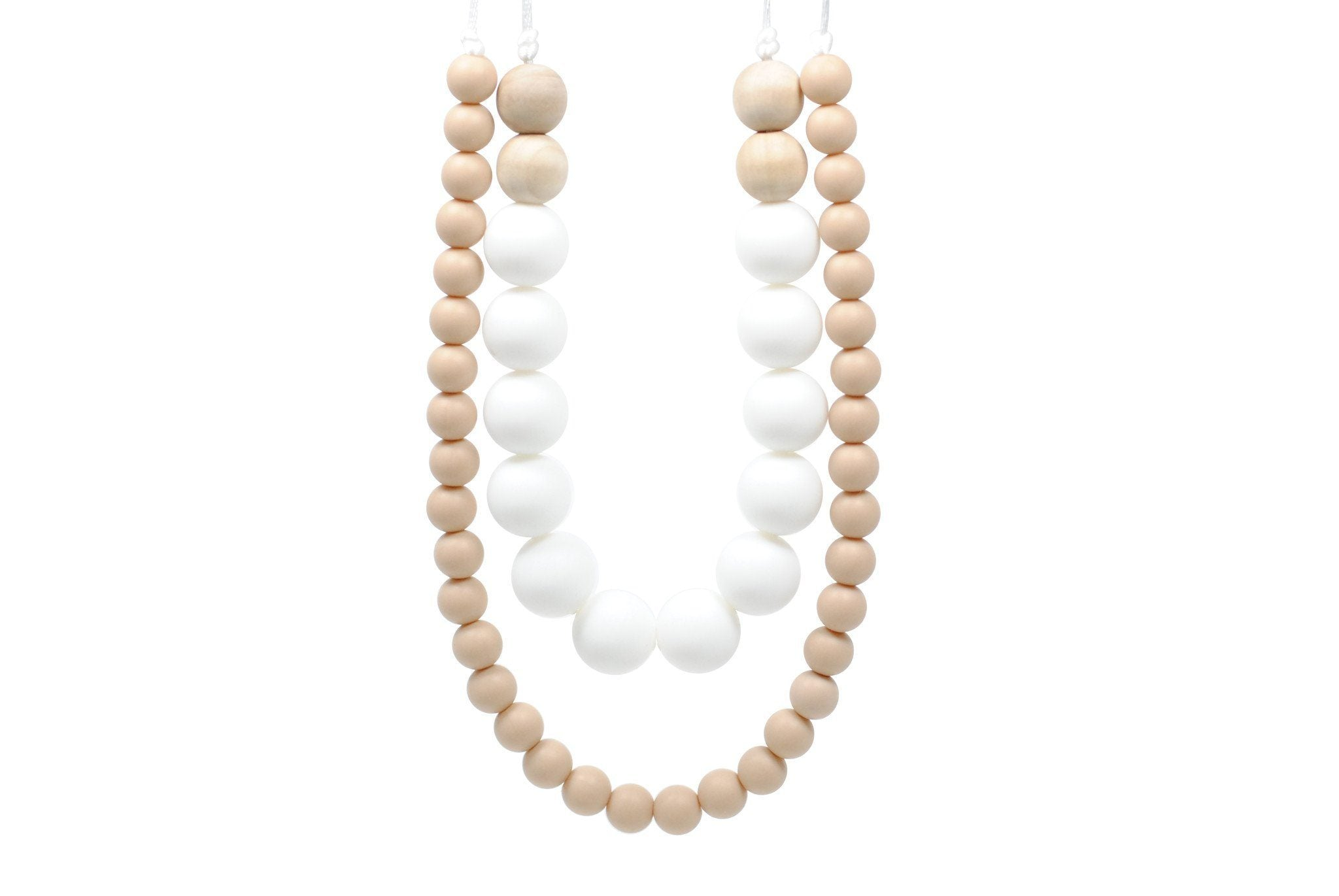Silicone Teething Necklace - Tanner - Glitter & Spice