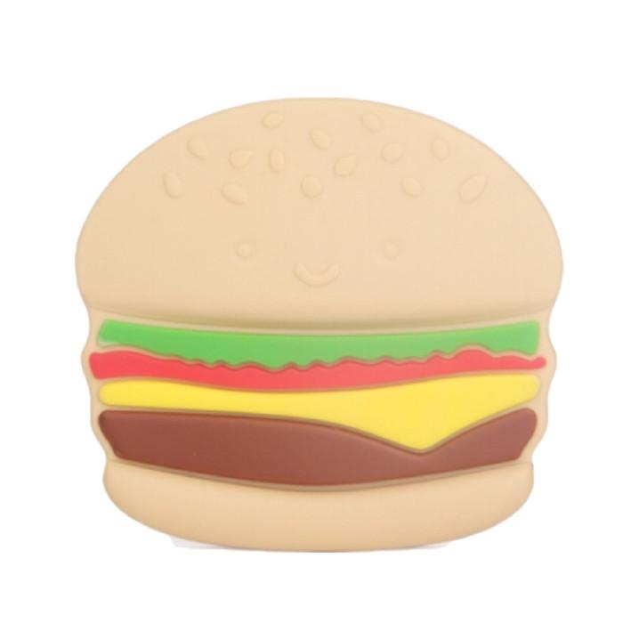 Burger Teether Overstock (without clip) - Glitter & Spice