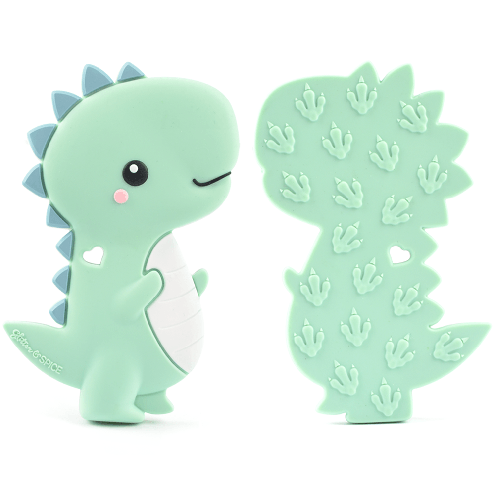T-Rex Dino Teether - Glitter & Spice