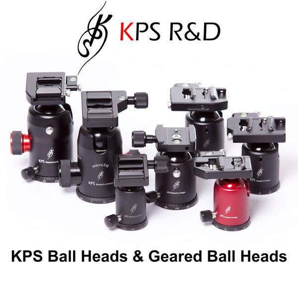 KPS - Ball Heads & Geared Ball Heads