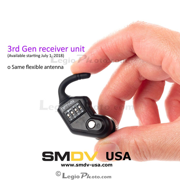SMDV RFN-4s Receiver Unit for Wireless Shutter Release (3rd Generation Version) (Refurbished Unit)