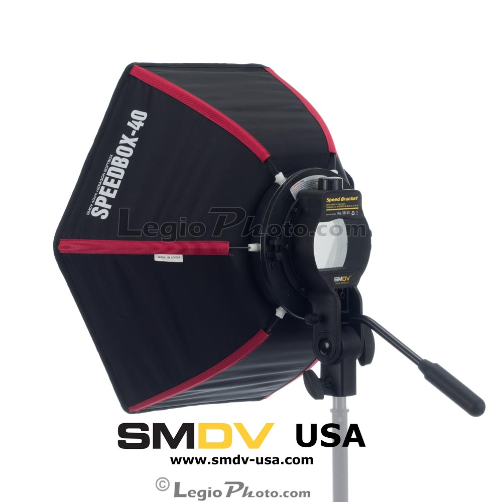 SMDV Speedbox-S40 - Professional 16 inch (40 cm) Hexagon Softbox