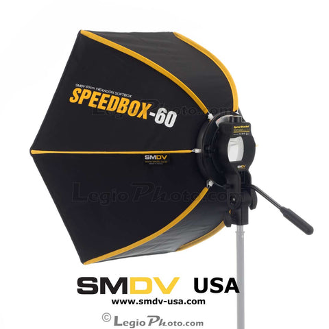SMDV Speedbox-S60 - 24 inch (60 cm) Hexagon Softbox (Open Box Unit)