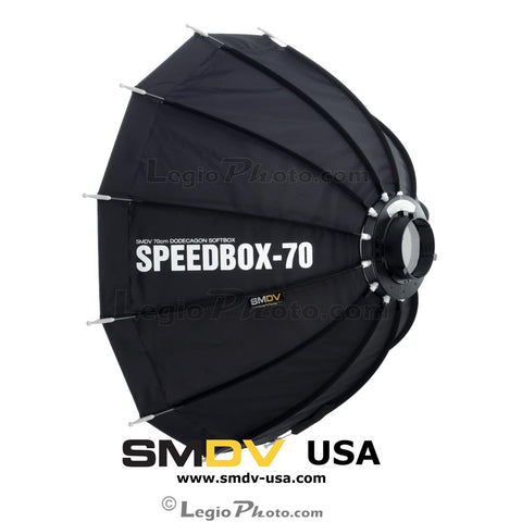 SMDV Speedbox-S70B - 28 inch (70cm) Dodecagon Softbox (Open Box Unit)