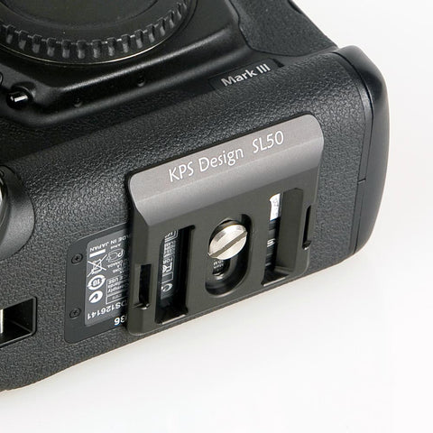 KPS Slim Plate - SL50 - For Canon 1D series and Nikon D1, D2